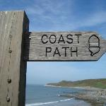 The SW Coastal Path is on our doorstep