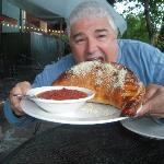 Now that's what I call a calzone!