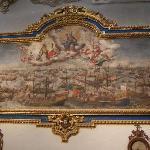 Aparición de la Virgen del Rosario en la batalla de Lepanto. Lucás Valdés.