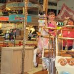 merry go round in mall