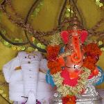 Beautiful Idol of Lord Ganesha at Club Mahindra Coorg on Ganesh Chaturthi