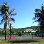 Tennis courts in addition to 9 hole golf course