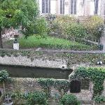 View of the garden and canal