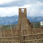 Bell tower from the old pueblo church