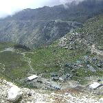 view from nathula pass