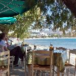 Plakias beach from the excellent Mouses restaurant