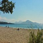 Souda beach, next to Plakias - our favourite for swimming