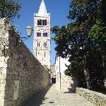 Belfry adjacent to Kampanel