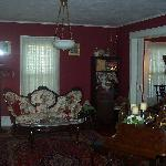 View of the parlour in the main guesthouse