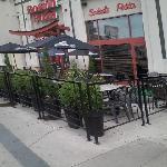 excellent patio