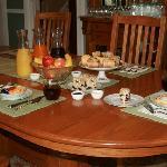 Breakfast at Fig Street Inn, Cape Charles, VA