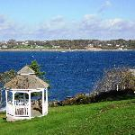 Property gazebo and views