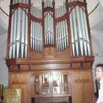 Biggest organ in museum