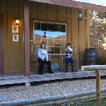 sheriffs office porch