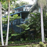 Montville Country Cabins are all surrounded by beautiful gardens