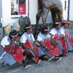 African Ladies at the Waerfront