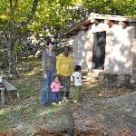 Cottage nel bosco di castagni