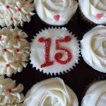 Our 15th anniversary Cupcakes