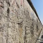 Part of the original Berlin Wall