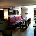 Inside the restaurant 2