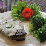 Fillet with Gorgonzola Cream Sauce
