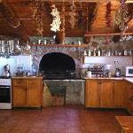The beautiful kitchen!