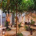 Dar Hanane courtyard