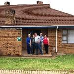 Adjacent chalets for larger families