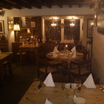 Warm, homely feel with classic British and Mediterranean dishes and Home Made Desserts