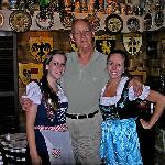 "Our friendly servers, ""Fraulein"" and Barby"