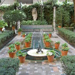 The gardens leading into Sorolla's home