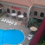 View from our balcony at the Clarion