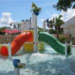 Kids' splash pad