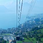 Gondola down to Weggis