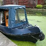 An old ferry at the Waterside