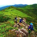 ニセコ連峰の尾根を歩く