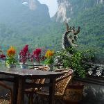 View from Yangshuo Village Inn