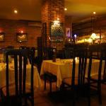 Skewers:  First-floor dining room