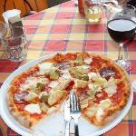 My new fav. pizza!.... Capriccosa!