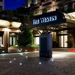 Entrance of The Westin Palace Milan