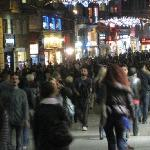 Istiklal Street early evening