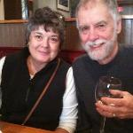 Barry & Debbie enjoying lunch at The Common Man Restaurant in Portsmouth, NH