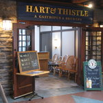 Hart & Thistle entrance