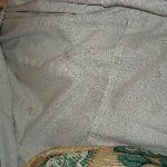 Bed stains