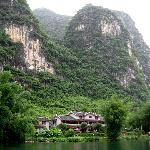 Mountain Retreat from Yulong River