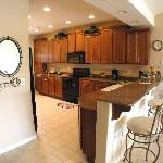 All condos come with a fully equipped kitchen well appointed with almost every item you would ne