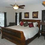 Plush beds with private televisions in each of the bedrooms assures a stress free vacation for y