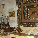 Le coin safari détente au Riad Bab Janna