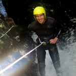 Start of the Water Fall Abseil