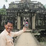Sopanha at Angkor Wat